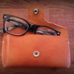 Leather Hand Stitched Glasses Case (Universal)