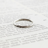 Stacking ring, 1.5mm, silver ring, spacer ring