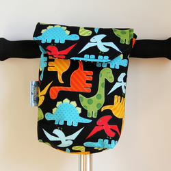 Cute Chunky Dinosaurs Micro Scooter or bicycle bag. Great gift for Children