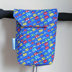 Funny Traffic Jam Micro Scooter or bicycle bag. Great gift for Boys