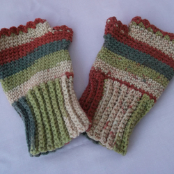 Autumn Fingerless Gloves