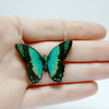 Keira Miniature Wooden Butterfly Necklace