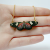 Elsie Miniature Wooden Butterfly Necklace