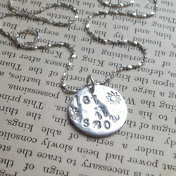 Artisan Silver Jewellery - Let It Snow! Christmas Snowflake, Snowflake Necklace