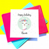 Personalised Llama Birthday Card