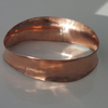 Small anticlastic copper bangle