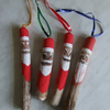 Ugly driftwood Father Christmas tree decorations for decorating Xmas trees