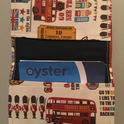 Union Jack Oyster Card Credit Card Holder