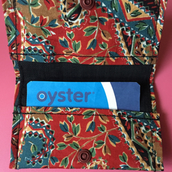 Beautiful Ethnic Print Oyster Card Credit Card Holder