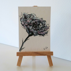 SALE ACEO Flowers Sketch Card SFA