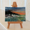 ACEO Seascape Sunset