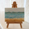 Seascape Ocean Beach ACEO Miniature ORIGINAL Painting