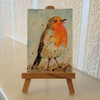 Robin Bird Painting ORIGINAL ACEO