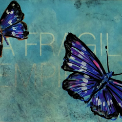 Butterfly Painting ACEO