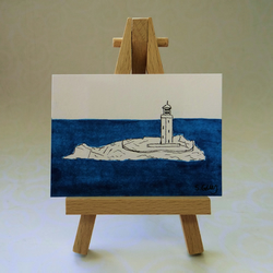 Lighthouse ACEO