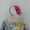 Kate - A Hand Embroidered Goldfinch Folk Art Rag  Doll