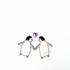 Penguins in love - Valentine's day card