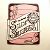 Silly Sausages: Original A4 handprinted lino-cut wall art