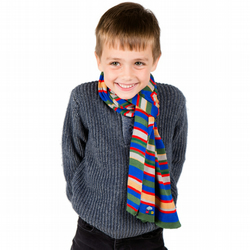Trains Scarf, Personalised Scarf, Boys Scarf,  330