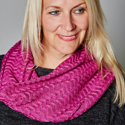 Magenta Cowl, Ladies Fashion, Lace Snood, Magenta, Birthday Gift, Neck Warmer,23