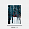 Northern Forest Illustrated Art Print