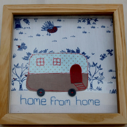 Fabric Picture: Caravan: Home from Home