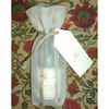 Bottle gift bag with personalised tag