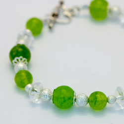 Lovely Green Jade Bracelet