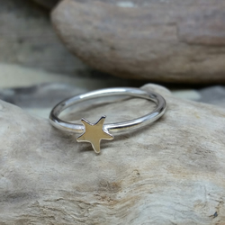 Handmade Sterling Silver Star Ring