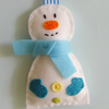 christmas tree decoration  handmade Sam the snowman