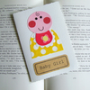 New baby card Girl can be personalised