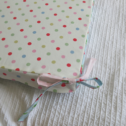 Cath Kidston and Tilda Fabric covered seat pads