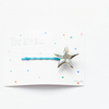 You are a ...Star silver porcelain bobbypin