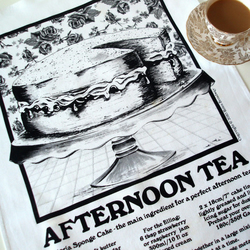 'Afternoon Tea' Tea Towel