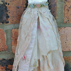 Beautiful tattered faerie dress