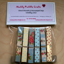 Patterned Pegs