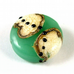 Traveller Handmade Lampwork Glass Focal Bead
