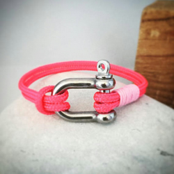 Sailing rope sailing shackle bracelet