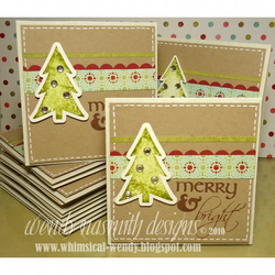 "FIVE x Christmas Cards ""Merry & Bright"""
