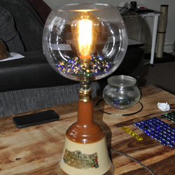 Handmade Industrial Steampunk lamp