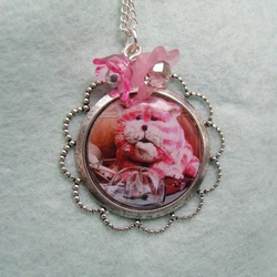 Reserved for RL: Bagpuss: Retro necklace