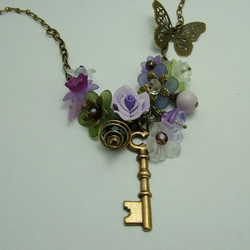 Secret garden necklace: Lavender Dreams