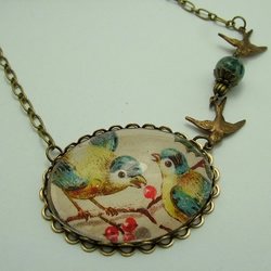 Bluebird Chatter Necklace