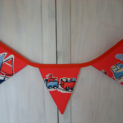 Red Bunting - 'Planes, Trains and Automobiles'