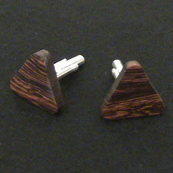 Triangle Cuff Links in Kingwood