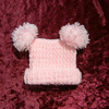 SALE First size baby crocheted T bag hat (ref 111)