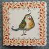 Quirky bird greetings card (ref 844)