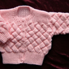 SALE ....baby knitted jacket (ref f 473)