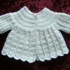 Premature baby angel top (ref F381)