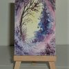 original art fantasy painting aceo (ref f 435)